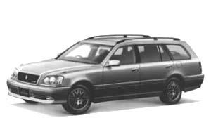 トヨタ クラウン エステート アスリートV 外装