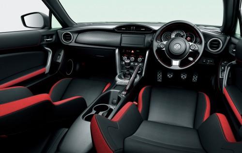 トヨタ GT 内装