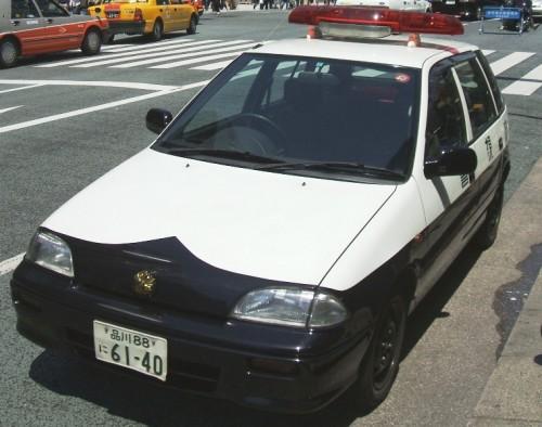 スズキ 2代目 カルタス パトカー
