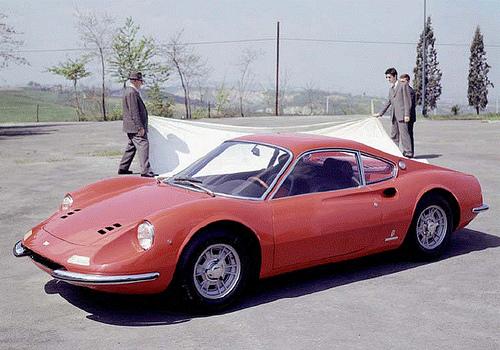 フェラーリ ディーノ 206GT