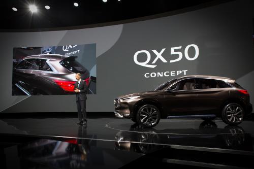 インフィニティ QX50 コンセプト 日産