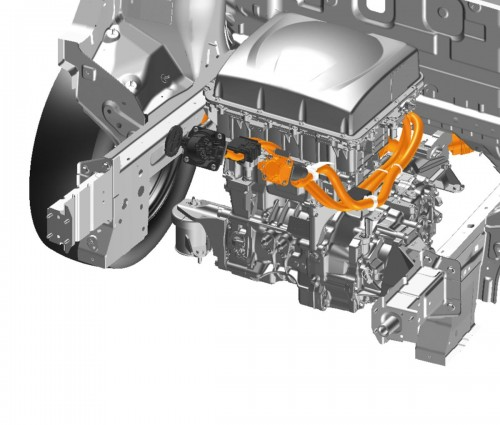 e-NV200 パワートレーン