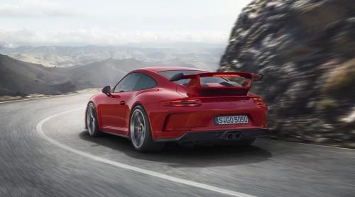 ポルシェ 新型 911 GT3 2017年