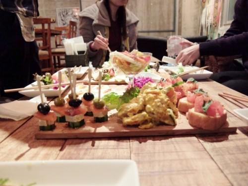 食事 女子会