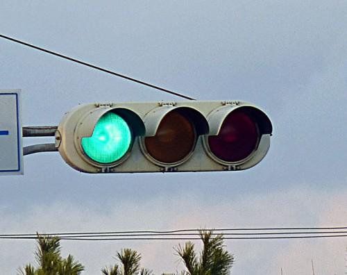 信号機 青