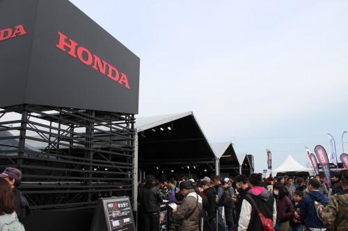 鈴鹿サーキット 2017モータースポーツファン感謝デー ホンダ ブース