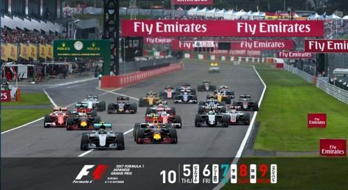 鈴鹿サーキット F1日本ブランプリ 2017