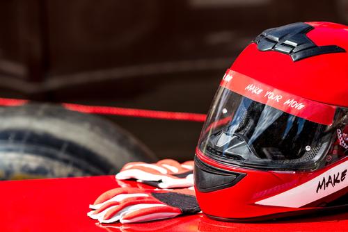 ヘルメット レーシンググローブ