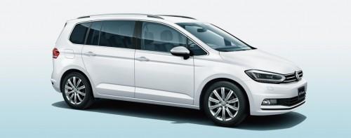 新型VWゴルフトゥーラン