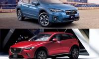【小型SUV戦国時代到来】スバル新型XVとマツダCX-3の性能・評判・デザインなど徹底比較