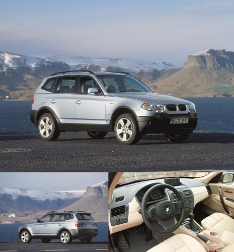 2003年 初代前期型 BMW X3