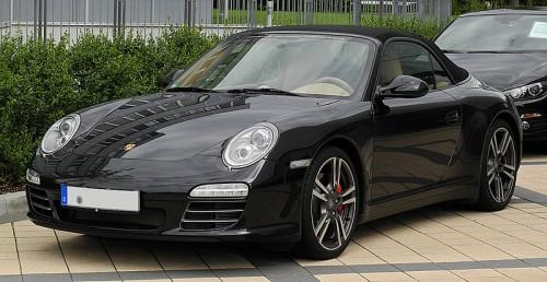 911カレラカブリオレ Black Edition 2011