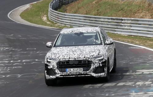 Audi Q8 スクープ