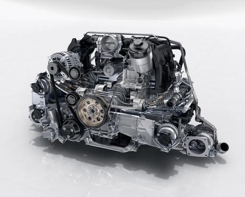 2016年式ポルシェカレラエンジン 3.0リッターツインターボ