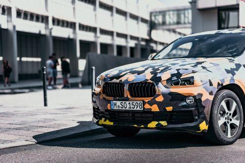 BMW X2 プロトタイプ