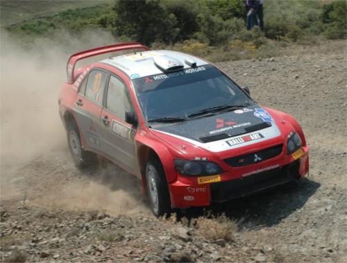 三菱 ランサー WRC ラリーアート