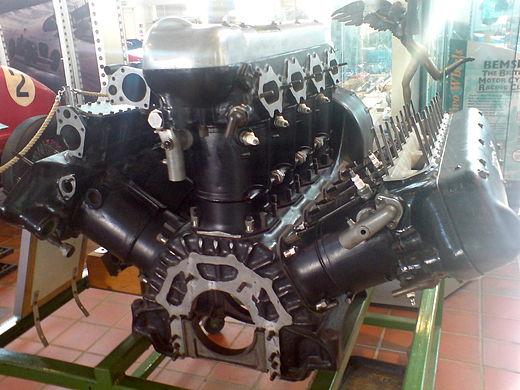 W型12気筒エンジン