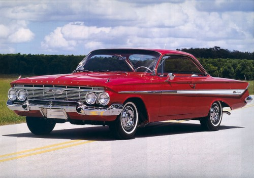 シボレー インパラ 1961年型 2ドアクーペ