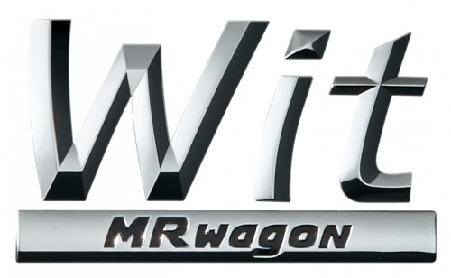 スズキ MRワゴンwit ロゴ