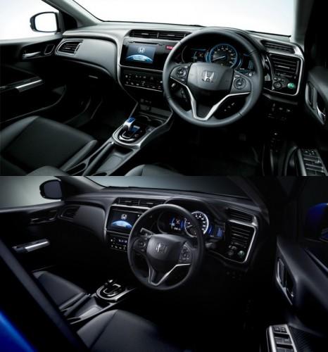 新型グレイス 旧型との比較 内装 2017年7月マイナーチェンジ
