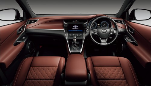 トヨタ 新型ハリアー 2017年 マイナーチェンジモデル