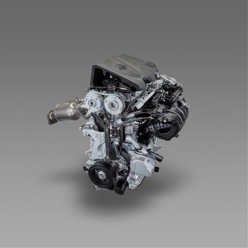直列4気筒2016年 トヨタ TNGA 2.5L直噴ガソリンエンジン