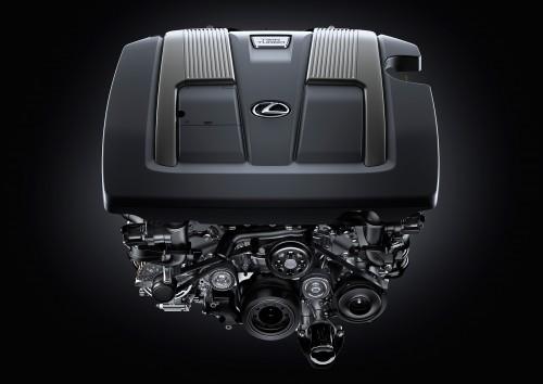 2017 レクサス LS500 エンジン
