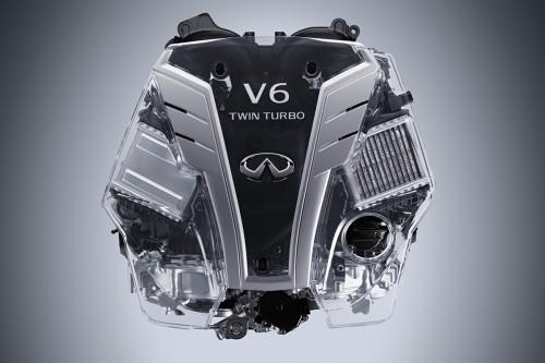 インフィニティ 3.0L V6 ツインターボエンジン