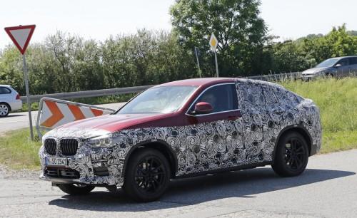 BMW X4 スクープ