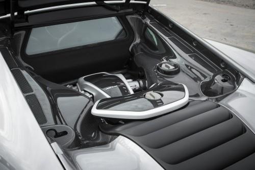 マクラーレン 650S エンジン