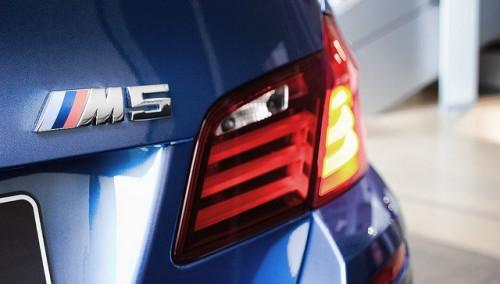 BMW M5 F10 外装 リア