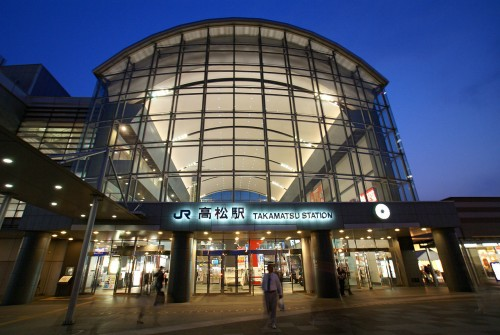 高松駅周辺の駐車場