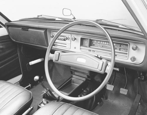 日産サニートラック2代目1975年内装