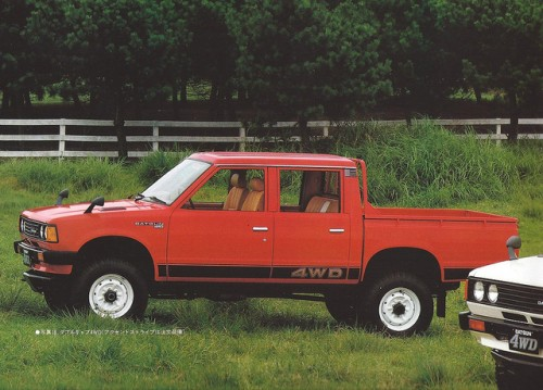 ダットサン ピックアップ 4WD