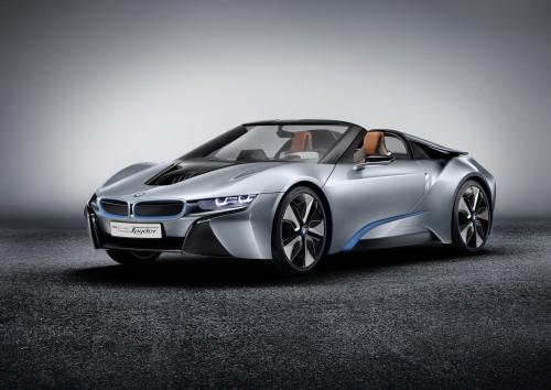 BMW i8 Concept Spyder 2012年