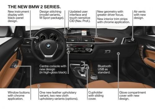 BMW 新型 2シリーズ クーペ カブリオレ 内装
