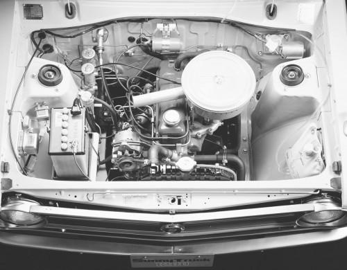 日産サニートラック2代目1975年エンジン