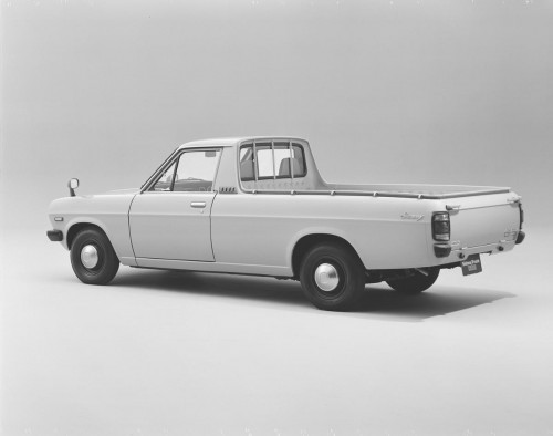 日産サニートラック2代目1978年リア