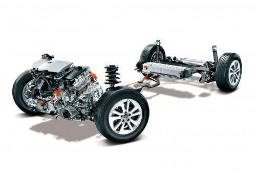 4代目トヨタプリウスハイブリッドシステム FF