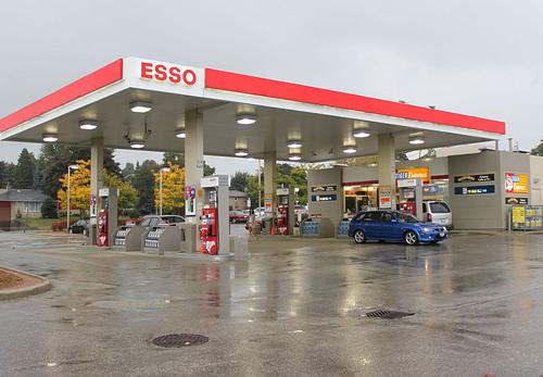 ESSO ガソリンスタンド