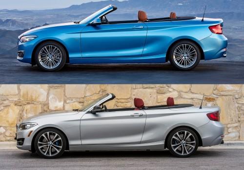 BMW 2シリーズ カブリオレ 旧型 新型