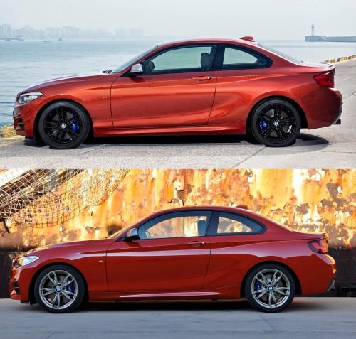 BMW 2シリーズ クーペ 旧型 新型