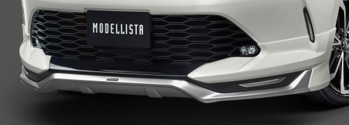 新型 ハリアー モデリスタ フロントスポイラー(LED付)Ver2