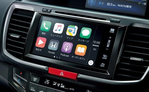 2016 ホンダ アコード Apple CarPlay