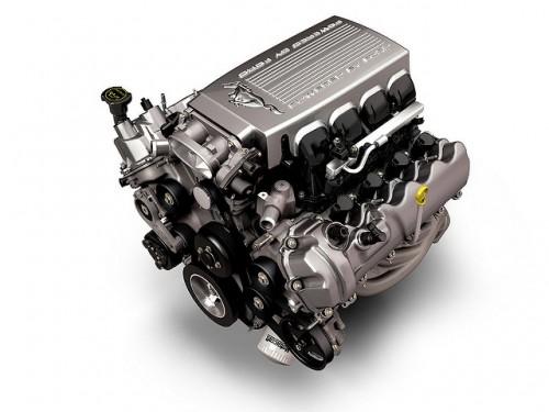 5thフォード・マスタング V8エンジン