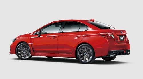 スバル新型WRX S4 D型 2017.7.3 ビッグマイナーチェンジ_ピュアレッド