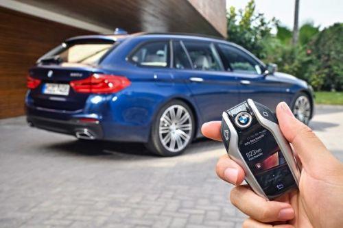 BMW 5シリーズツーリング 2017 リモートコントロールキー