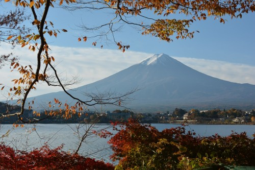 山梨 富士山