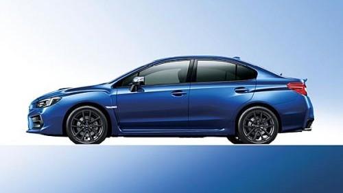スバル新型WRX S4 D型 WRブルー・パール