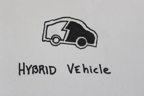 ハイブリッド車のイメージ